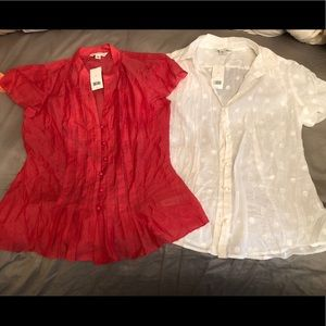 Three Gorgeous Tops (Size M) from BANANA REPUBLIC